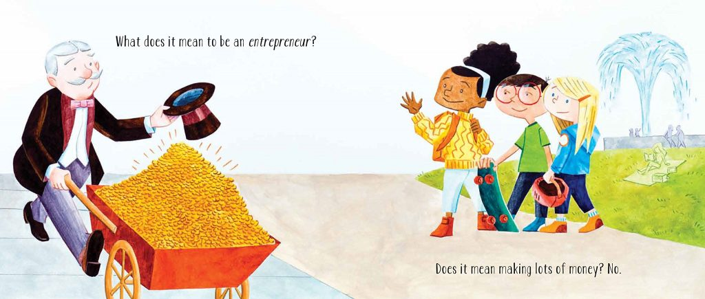 What it means to be an entrepreneur? Loads of money?!