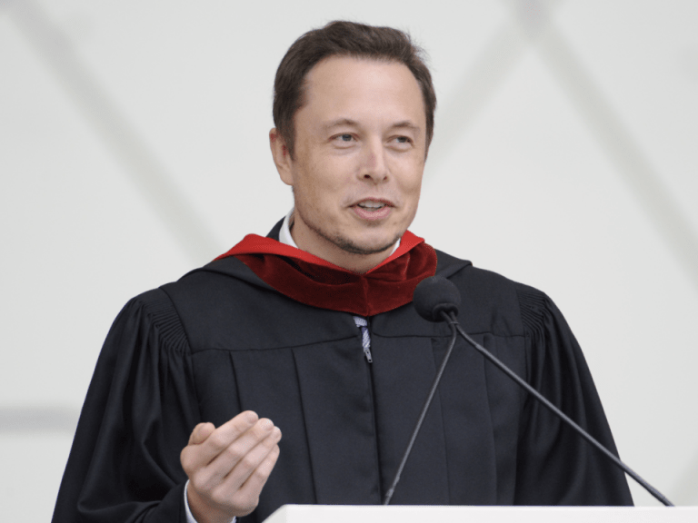 elon musk education