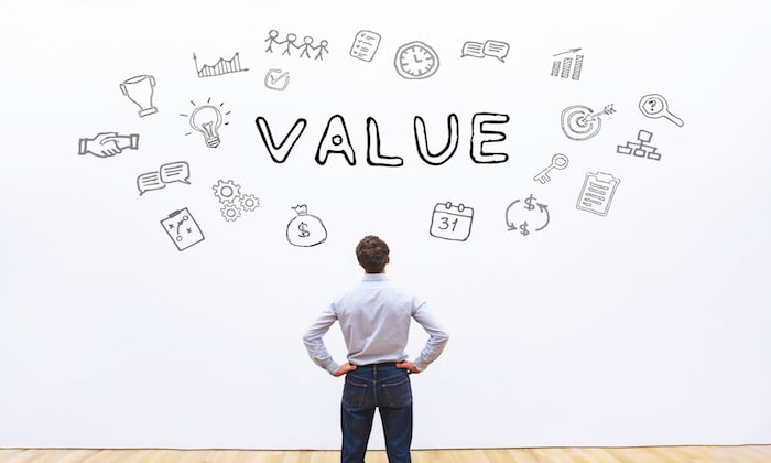 Create Value to create a brand