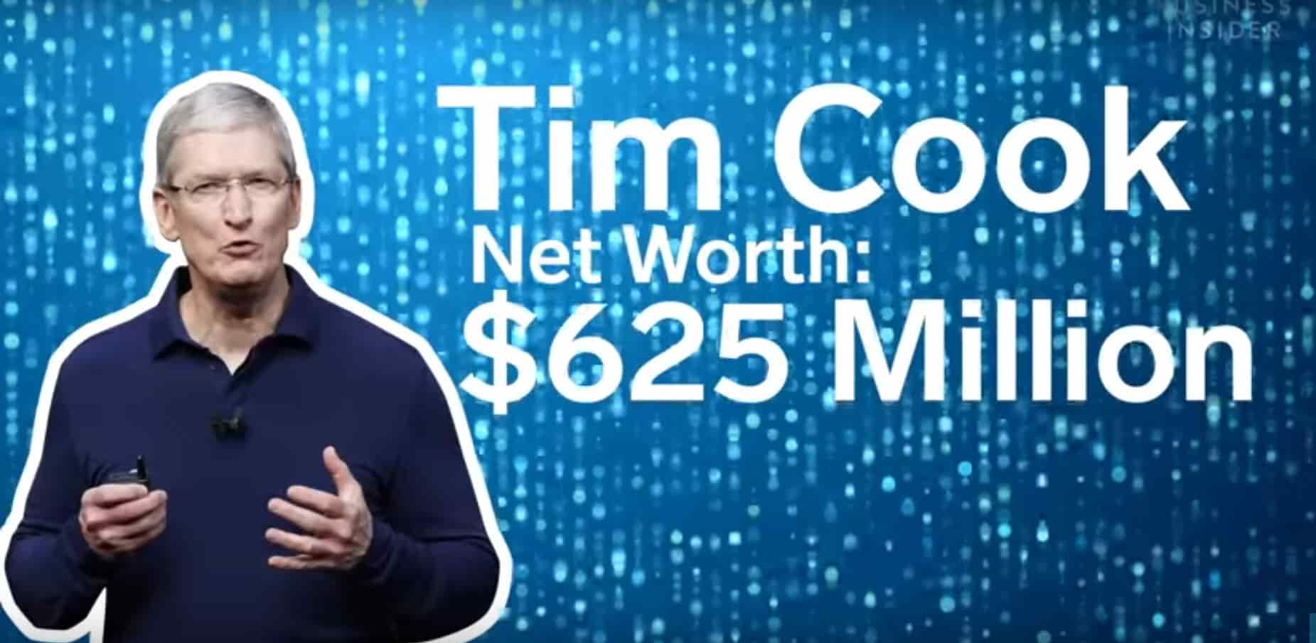 How Tim Cook Makes and Spends his Money-min